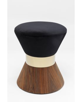 STOOL LILLY TAILLE BLACKo40CM