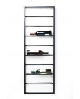 Wall Wine Shelf Bistro 120Cm,Black