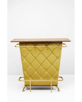 BAR CABINET LADY ROCK YELLOW