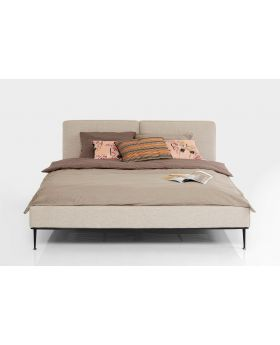 BED EAST SIDE 180X200CM,GREY