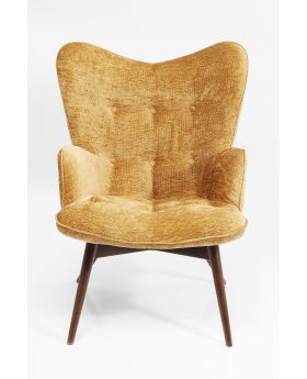 VICKY ARM CHAIR WILSON YELLOW , FAB