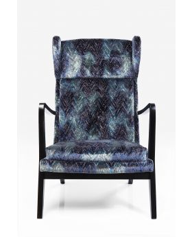 ARM CHAIR SILENCE FANCY BLUE,FAB