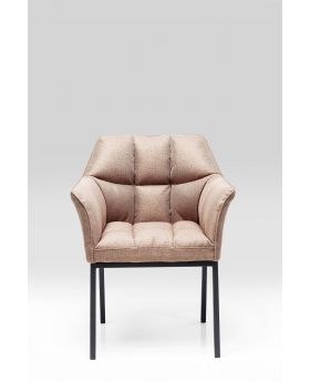 Diningchair W/Arm Thinktank Light Brown