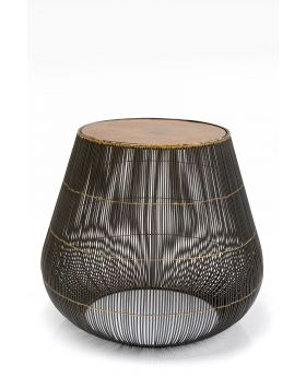 Side Table Sphere Dia49Cm,Brown