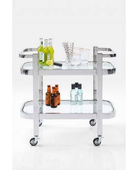 TRAY TABLE DAYDRINKING  73CM,SILVERY