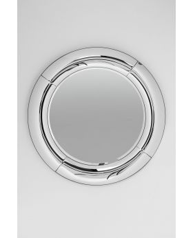 MIRROR BOUNCE ROUND DIA80CM,SILVERY