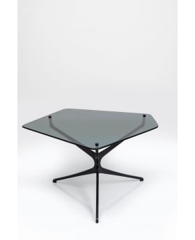 COFFEE TABLE DARK SPACE 98X86CM,BLACK