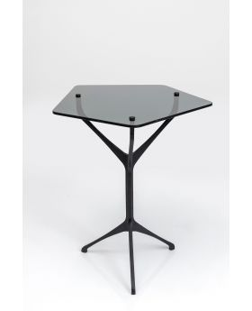Coffee Table Dark Space 49X49Cm,Black