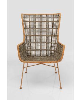 Chair With Armrest Hanoi,Beige