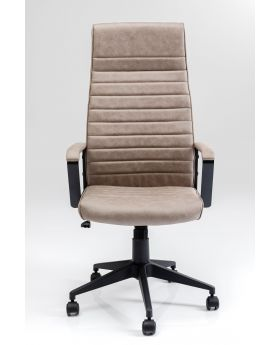 OFFICE CHAIR LABORA HIGH PEBBLE,BEIGE