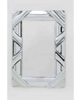 Mirror Zick Zack Curved 120X80Cm