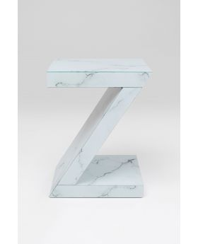 SIDE TABLE LUXURY Z MARBLE,GREY