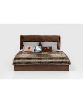 BED SOUL 180X200CM,BROWN