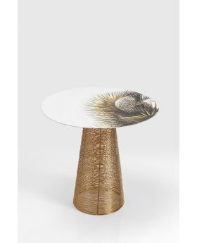 Side Table Charme Palm Dia40Cm