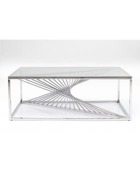 Coffee Table Laser 120X60Cm,Silvery