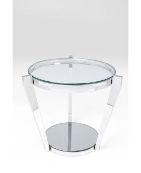 Side Table Monocolo Glassdia50Cm