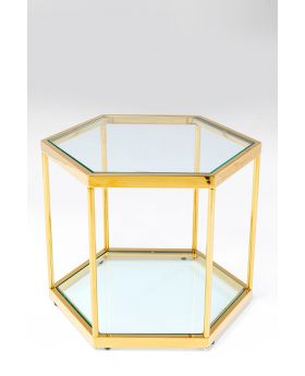 Coffee Table Comb Gold 45Cm