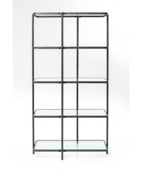 SHELF MODERN ART 200CM,BLACK