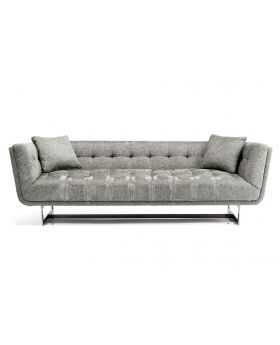 SOFA 3-SEATER NASHVILLE 224CM,GREY