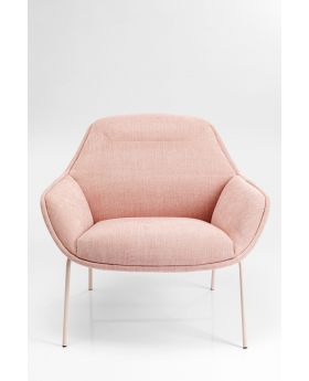 Armchair Austin,Pink,Fab