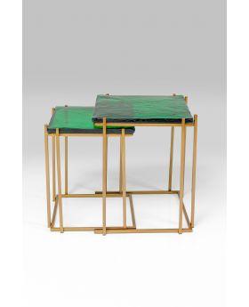 Side Table Lagoon Green (2/Set)