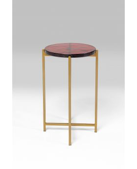 SIDE TABLE LAGOON GREEN DIA29CM