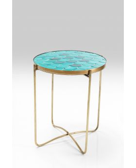 Side Table Scale Dia40Cm,Blue