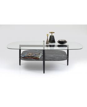 Noblesse Coffeetable Rect Glass140X76Cm