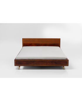 Wooden Bed Muskat 160X200 (Excluding Bed Slat And Mattress)