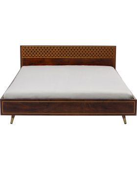 Wooden Bed Muskat 180X200 (Excluding Bed Slat And Mattress)