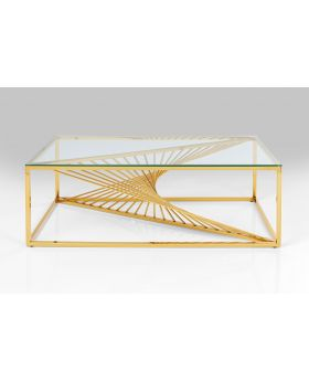 Coffee Table Laser Gold 120X60