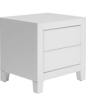 Dresser Small Luxury Push 2Drawers White