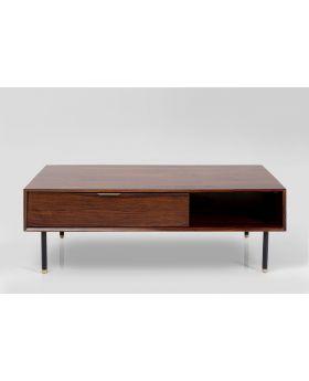 Ravello Coffeetable Solid Wood 60X120Cm