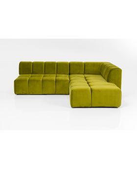 Corner Sofa Belami Green Right