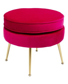 Stool Water Lily Pink