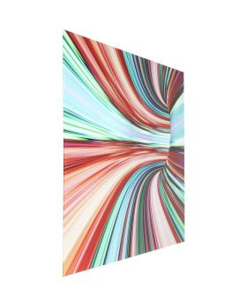 Picture Glass Colorful Intoxication 120x160cm