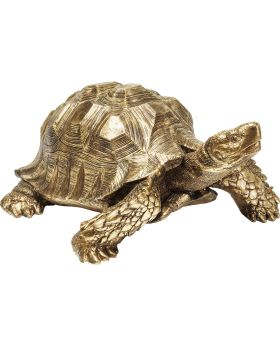 Deco Figurine Turtle Gold XL