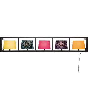 Wall Lamp Parecchi Horizontal Black