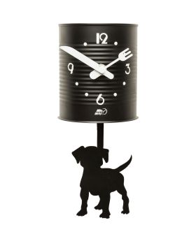 Wall Clock Tin Dog