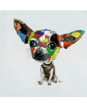 Oil Painting Chihuahua 100x100