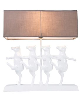 Table Lamp Dancing Cows