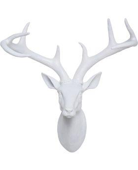 Deco Head Deer White