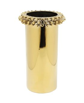 Vase Rivets Ring Gold 31cm