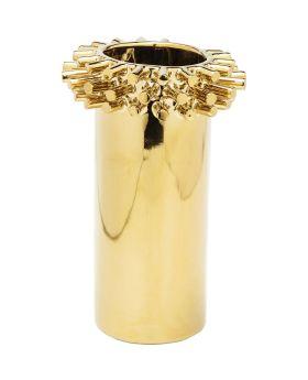 Vase Rivets Ring Gold 21cm
