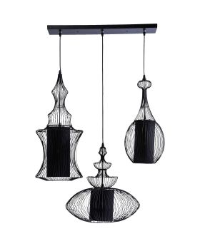 Pendant Lamp Swing Iron Tre (Excluding Bulb And Socket)