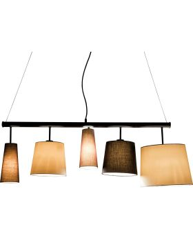 PENDANT LAMP PARECCHI BLACK 140 (EXCLUDING BULB AND SOCKET)