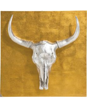 Wall Decoration Bison 80x80cm