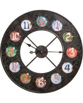 Wall Clock Vintage Colore 70cm