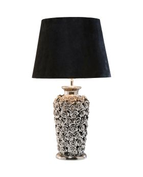 Table Lamp Rose Multi (Excluding Bulb)
