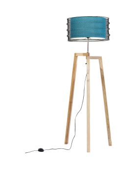 FLOOR LAMP WIRE TRIPOD (EXCLUDING BULB)